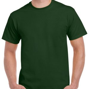 tricouri-simple-unisex-bumbac-marimi-mari-3xl-4xl-5xl-verde-forest