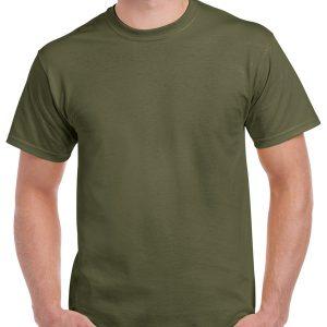 tricouri-simple-unisex-bumbac-marimi-mari-3xl-4xl-5xl-verde-militar