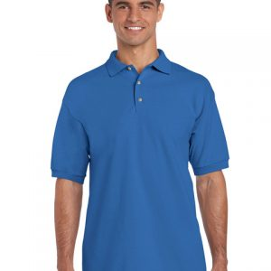 tricou-barbati-polo-gildan-albastru-royal-3xl-4xl-5xl