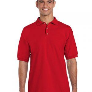 tricou-barbati-polo-gildan-rosu-3xl-4xl-5xl