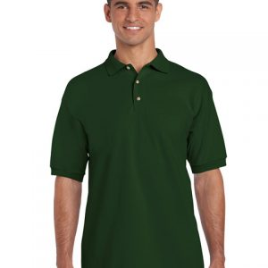 tricou-barbati-polo-gildan-verde-forest-3xl-4xl-5xl