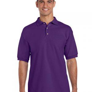 tricou-barbati-polo-gildan-violet-3xl-4xl-5xl
